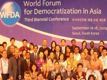 World Forum for Democratization in Asia 2010, Korea