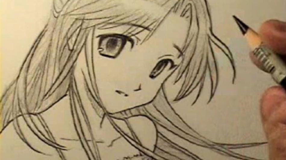 81+ Gambar Anime Keren Untuk Digambar HD Terbaru