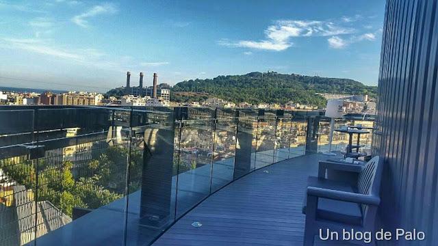 Vistas desde la terraza 360º Raval
