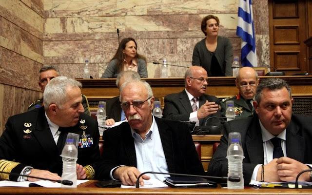 Βουλή: Άνευ προηγουμένου επεισόδιο στην Επιτροπή Εθνικής Άμυνας