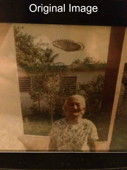 Undisclosed UFO Photo: Puerto Rico 1985