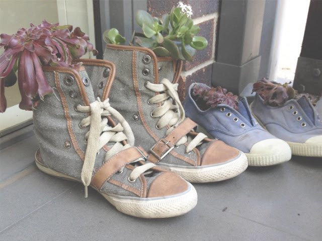 Upcycle shoes