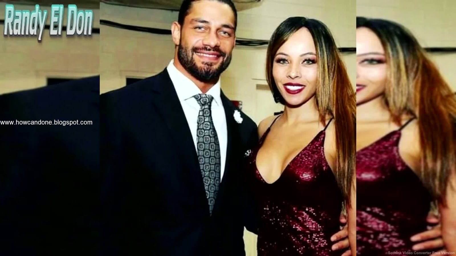 Wwe Superstars With Wife Pictures  How Can Done-9101