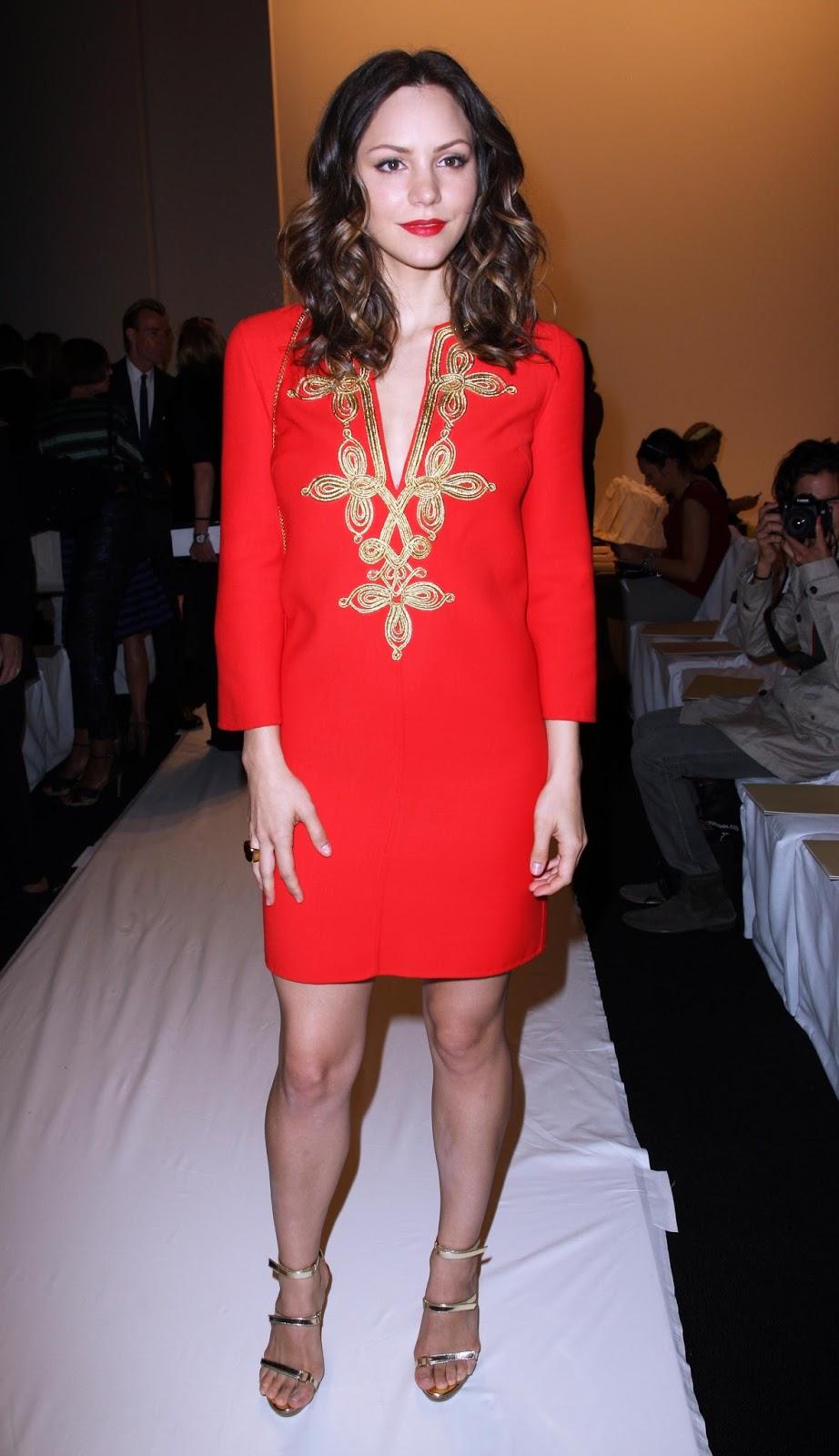 HQ Wallpapers and Photos Katharine McPhee at Mercedes-Benz Fashion Week
