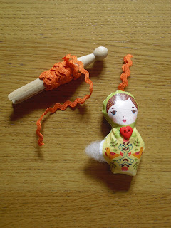 Russian doll key ring tutorial