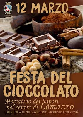 Festa del Cioccolato 12 marzo Lomazzo (CO)