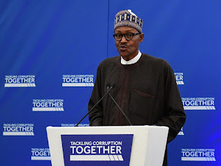 President Buhari at the Tackling Corruption Together Conference