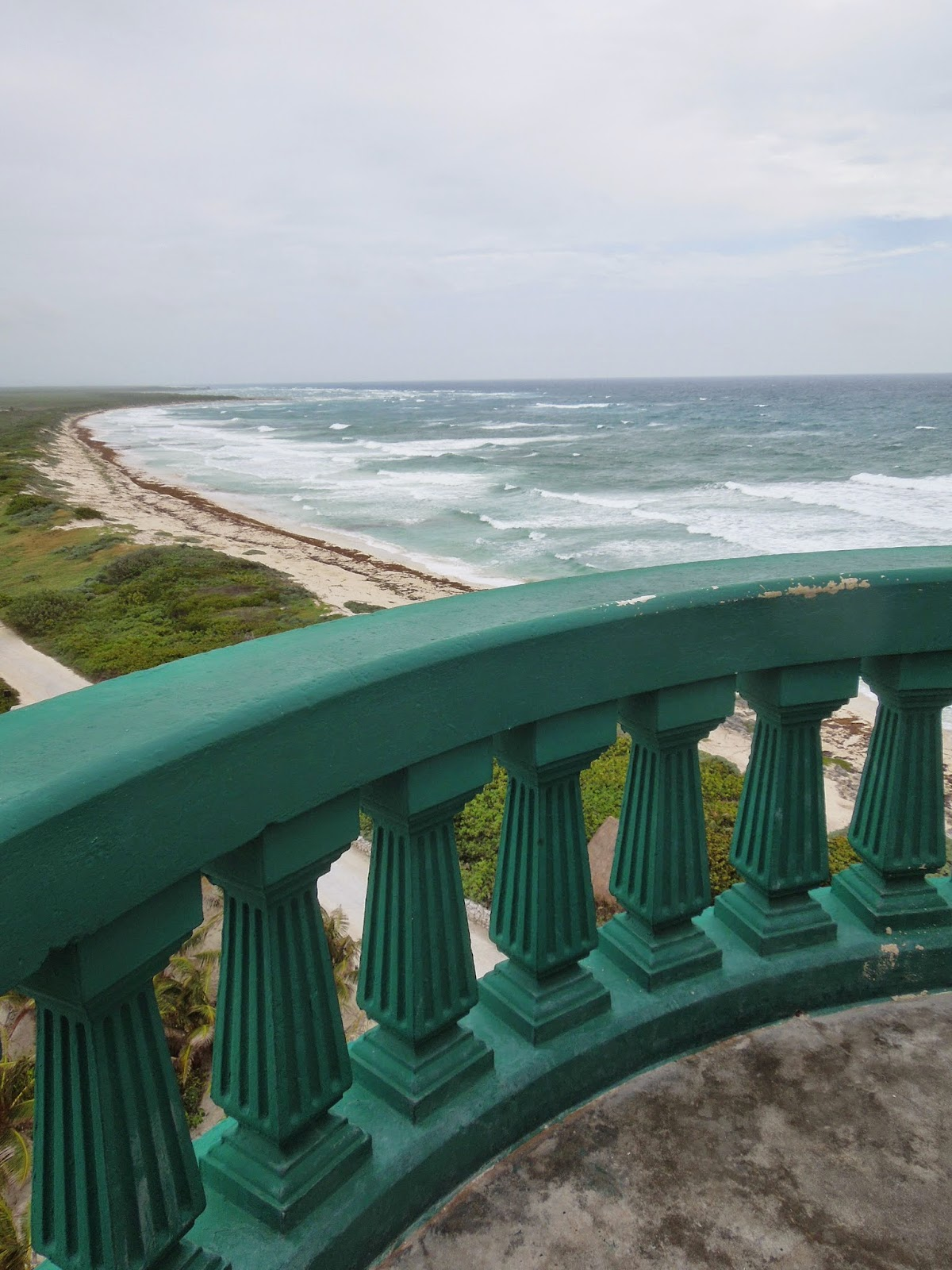 view from Celarain lighthouse