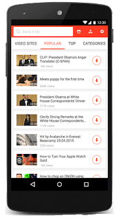 SnapTube – YouTube Downloader HD Video Final v4.45.0.4453110 Latest  APK is Here !