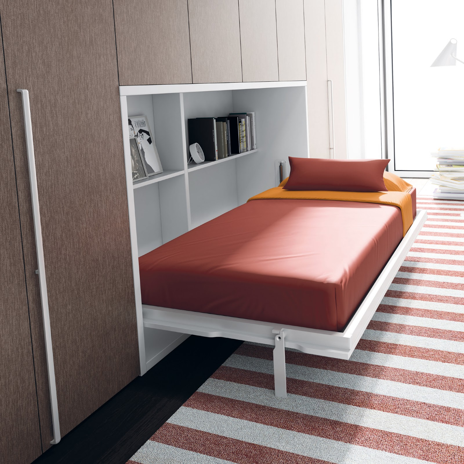 C mo decorar la casa ikea cama abatible for Cama mueble ikea