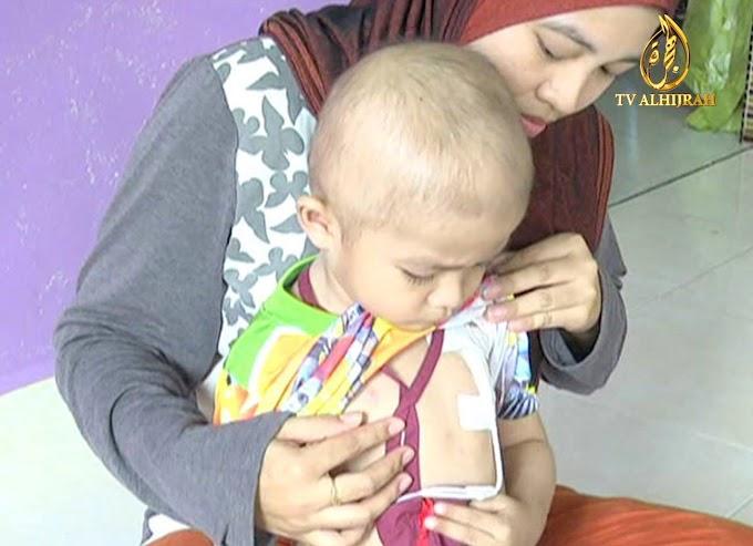 Mohon Doa dan Bantuan: Adik Zikri Leukemia Tahap Dua