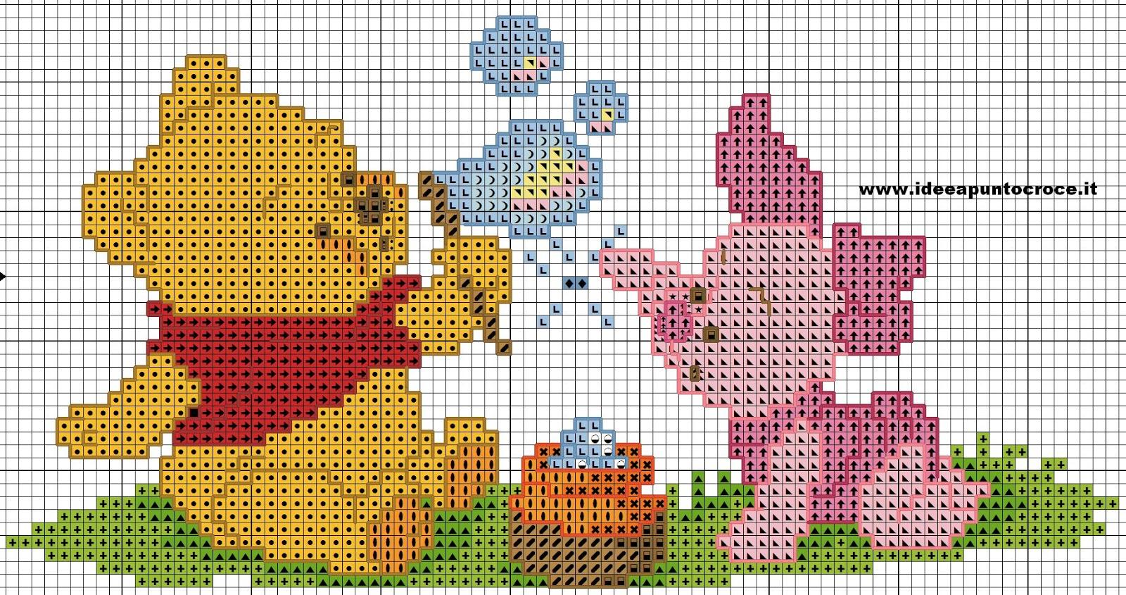 Schemi disney a punto croce schemi baby winnie the pooh for Winnie the pooh punto croce schemi