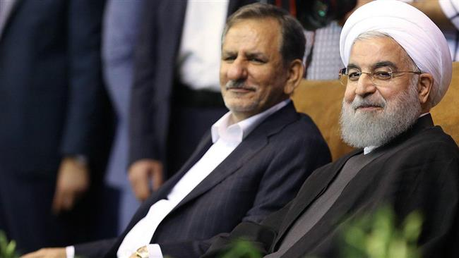 Iran's first vice president Es'haq Jahangiri drops out of presidential race to back President Hassan Rouhani