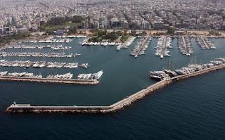 λιμάνι του Αλίμου στην Αττική