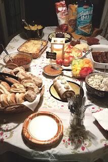Kick Off Party food #LVPANaNo #NANOWRIMO