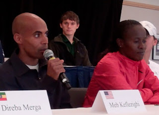 Meb Keflezighi Runs First Bay To Breakers