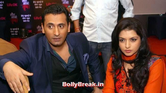 Jai Kalra and Bhagyashree, Bhagyashree Pics from Serial 'Laut Aao Trisha Serial' Promotion