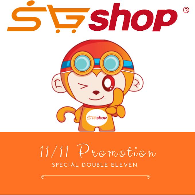 Double 11 Online Shopping Festival di SGshop MY Sempena 11/11