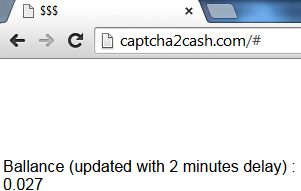 Captha 2 cash a minimum payout captha entry site