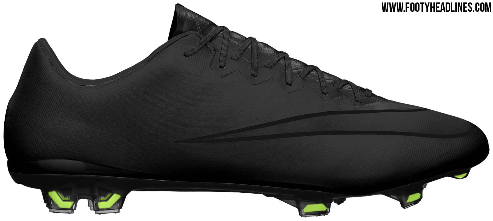 3c8e825911d04 nike mercurial vapor x blackout Nike Flyknit Roshe One ...