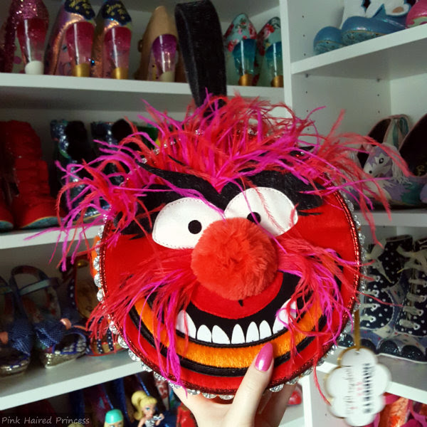 Disney Muppets Animal Was Here Handbag by Irregular Choice in hand