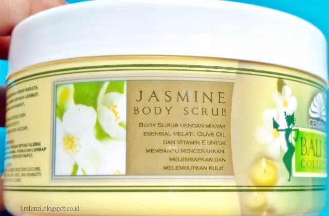 Bali Spa Collection Jasmine Body Scrub