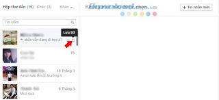 Xóa và khôi phục tin nhắn đã xóa trên Facebook