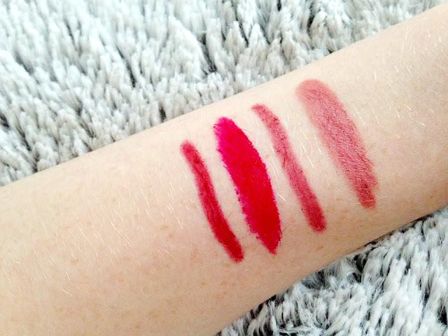 My Top Autumn/Winter Lipstick Swatches