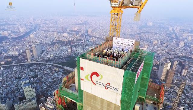 Conteccons - Nhà thầu xây dựng uy tín triển khai chung cư Imperia Mễ Trì