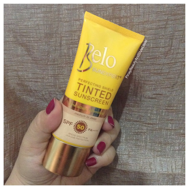belo sunexpert perfecting shield tinted sunscreen