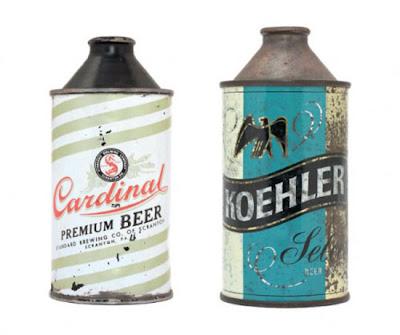 Lata cerveza retro