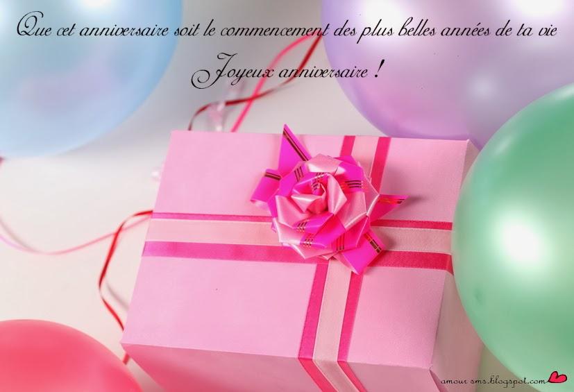Message De Joyeux Anniversaire