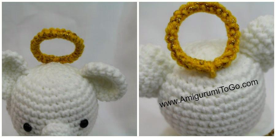 Amigurumi Crochet Angel Pattern | Supergurumi | 450x900