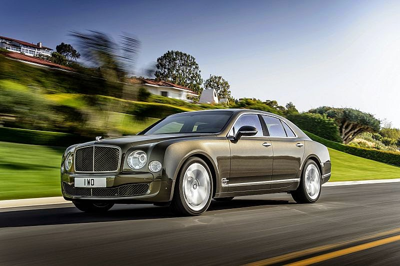 Yeni Bentley Mulsanne Speed