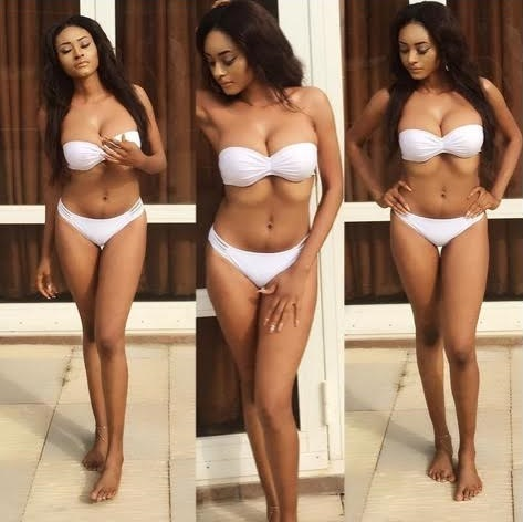 ex most beautiful girl abuja stella charles flaunts her