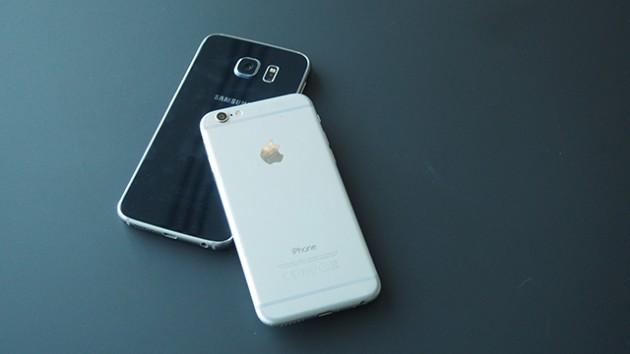 Samsung dan iPhone