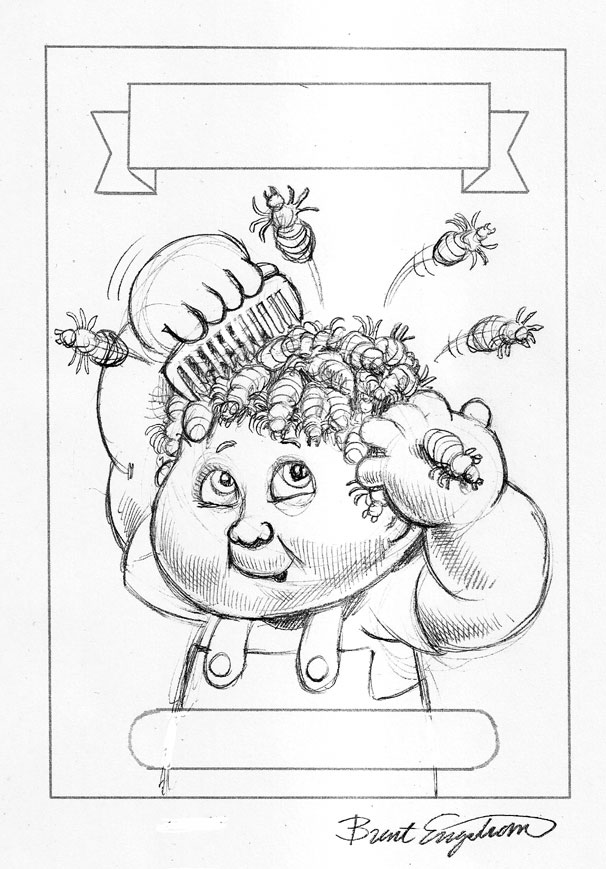 garbage pail kids coloring pages - photo#4