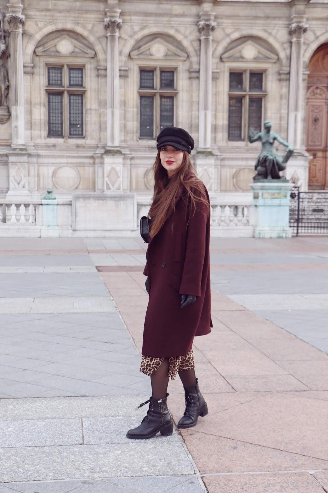 manteau oversize blogueuse