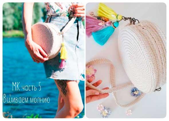 bolso crochet bombonera, tutorial bolso circular, patrones para crochet