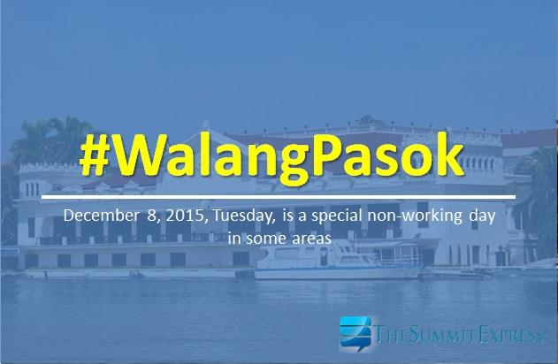 Malacañang Palace declares class, work suspension for December 8