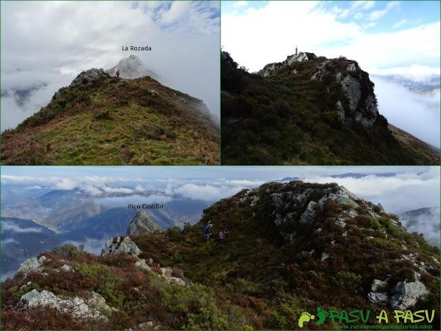 Ruta al Pico Castillo y la Rozada: Camino del Castillo a la Rozada