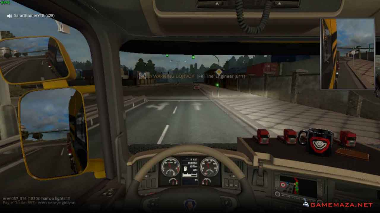 Game Maza: Euro Truck Simulator 2: Vive La France Free Download