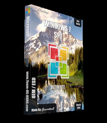 Windows 7 SP1 Ultimate X64 3in1 OEM ESD ENU Mar2019 [Gen2