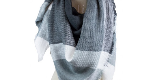 Soft, light, beautiful and cozy blanket scarves for Fall-Winter 2017