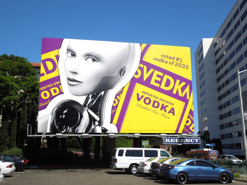 Svedka Vodka Fall 2012 billboard