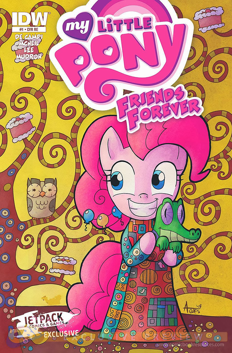 mlp friends forever issue  u0026 1 comic covers