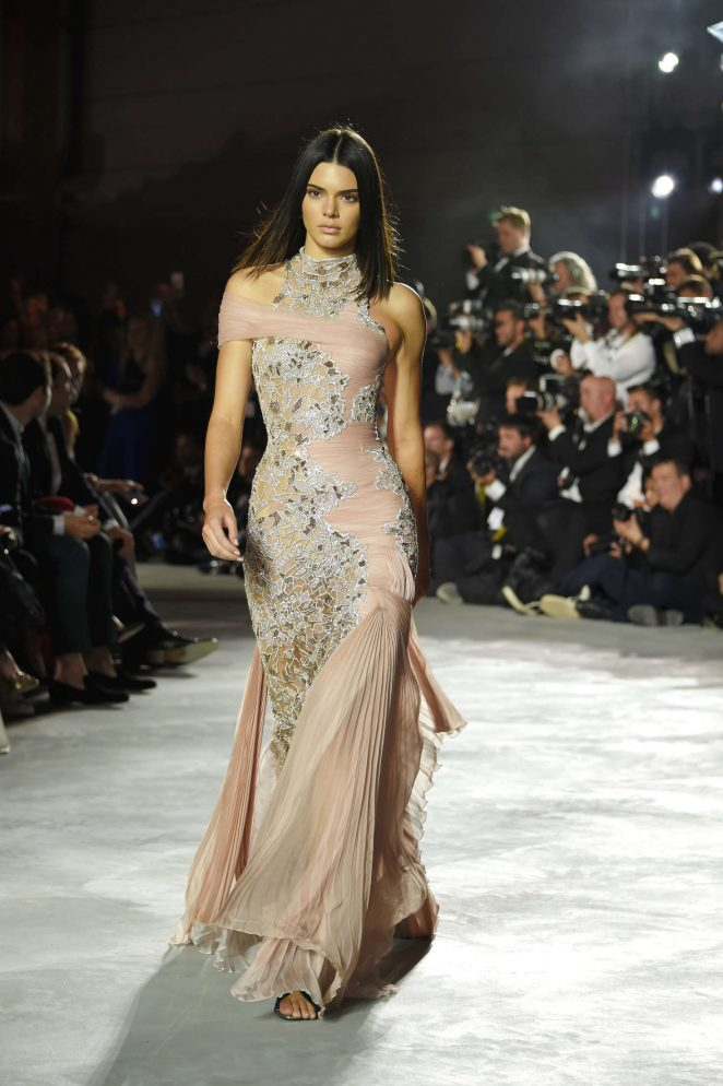 Kendall Jenner – Fashion for Relief Charity Gala Runway Show in Cannes