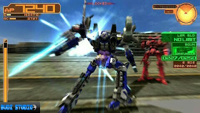 Armored Core Silent Line Portable PPSSPP Game