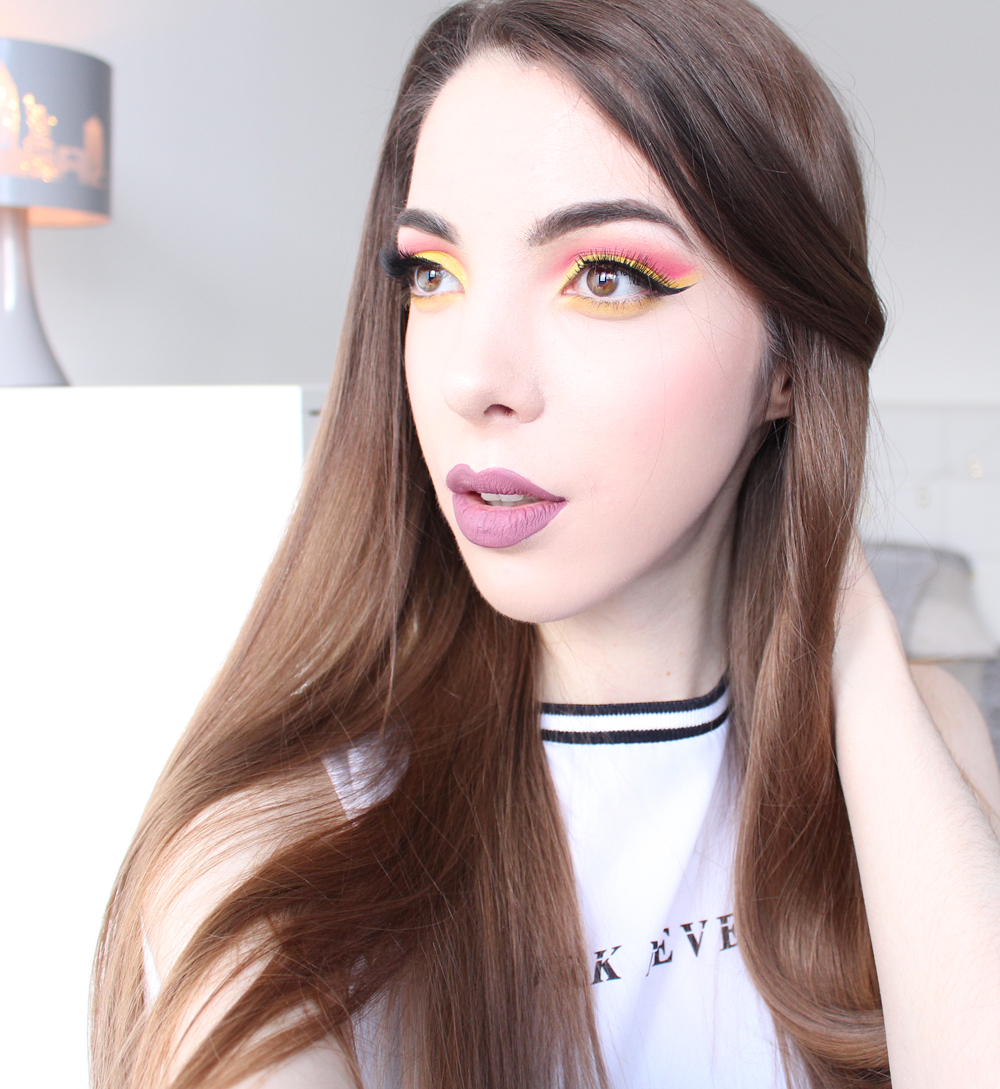 babydoll inspired colorful makeup colourpop ultra matte lip lumiere 2