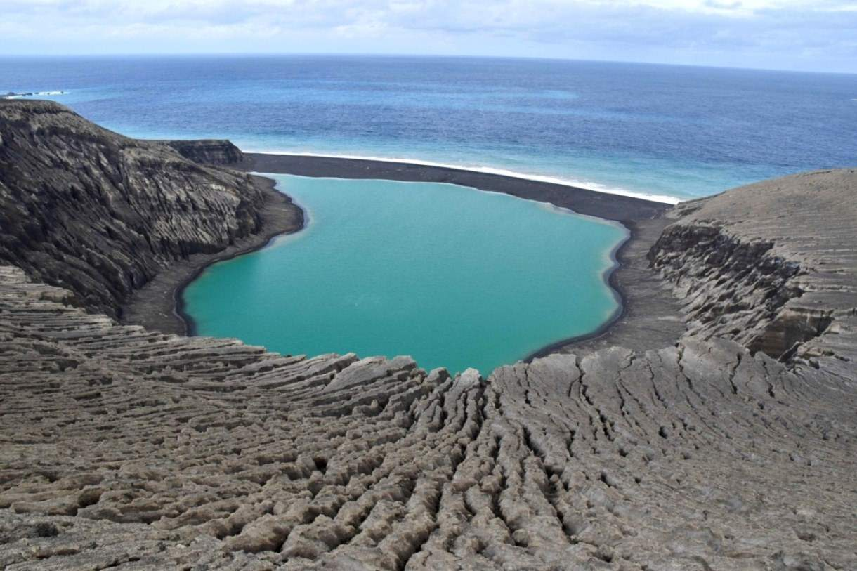 NASA Studies the Birth of an Unusual Island